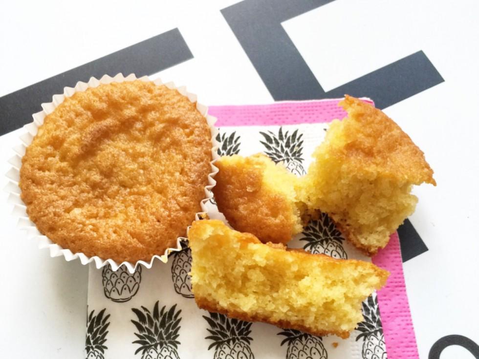 Amandelmeel cupcakes