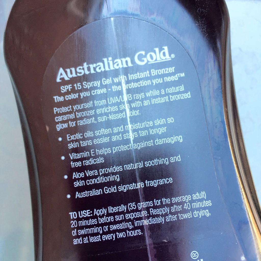 Australian gold spraygel