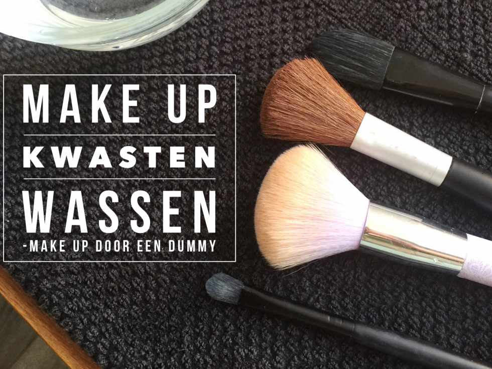 make up kwasten wassen