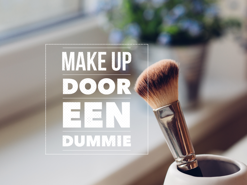 make up door een dummie