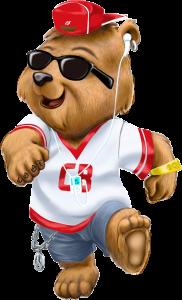 Cool bear