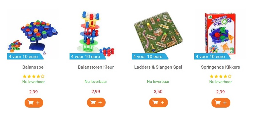 low budget speelgoed