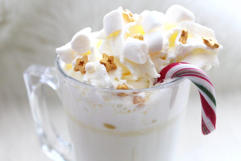 witte chocolademelk
