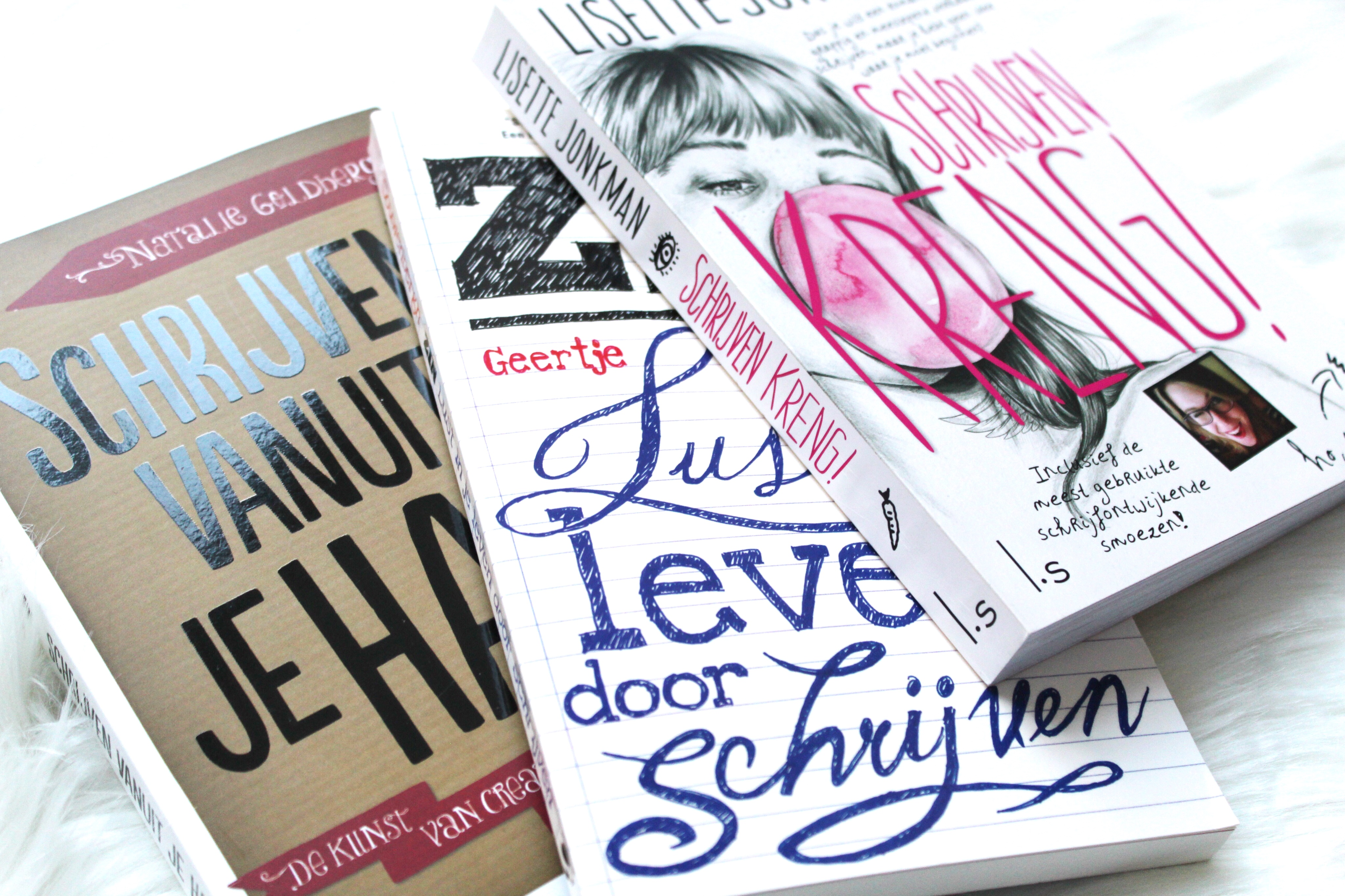 Geliefde 3 boeken voor hulp bij creatief schrijven - Save the Mama @KV24