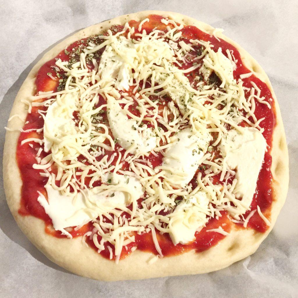 bloemkool pizzabodem
