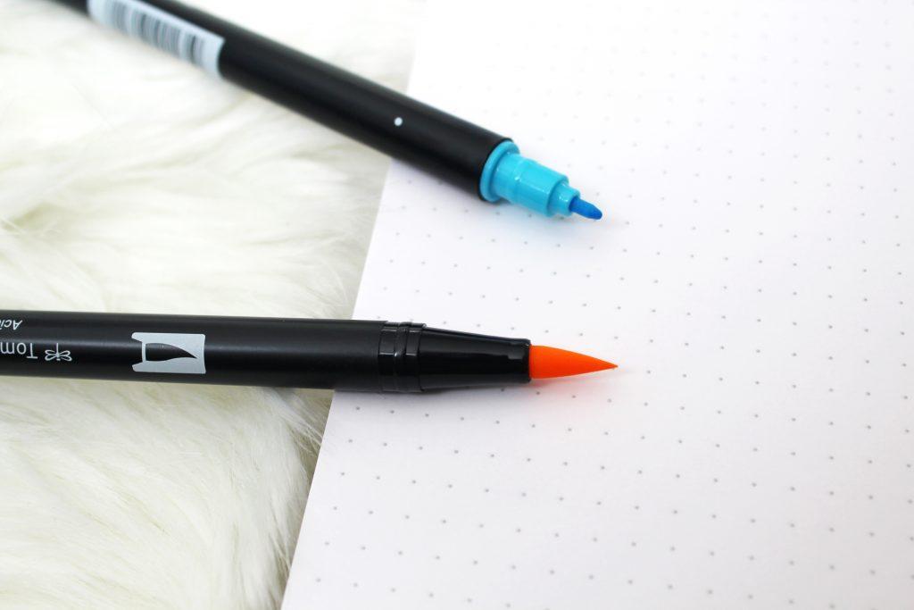 Tombow dual brushpenn