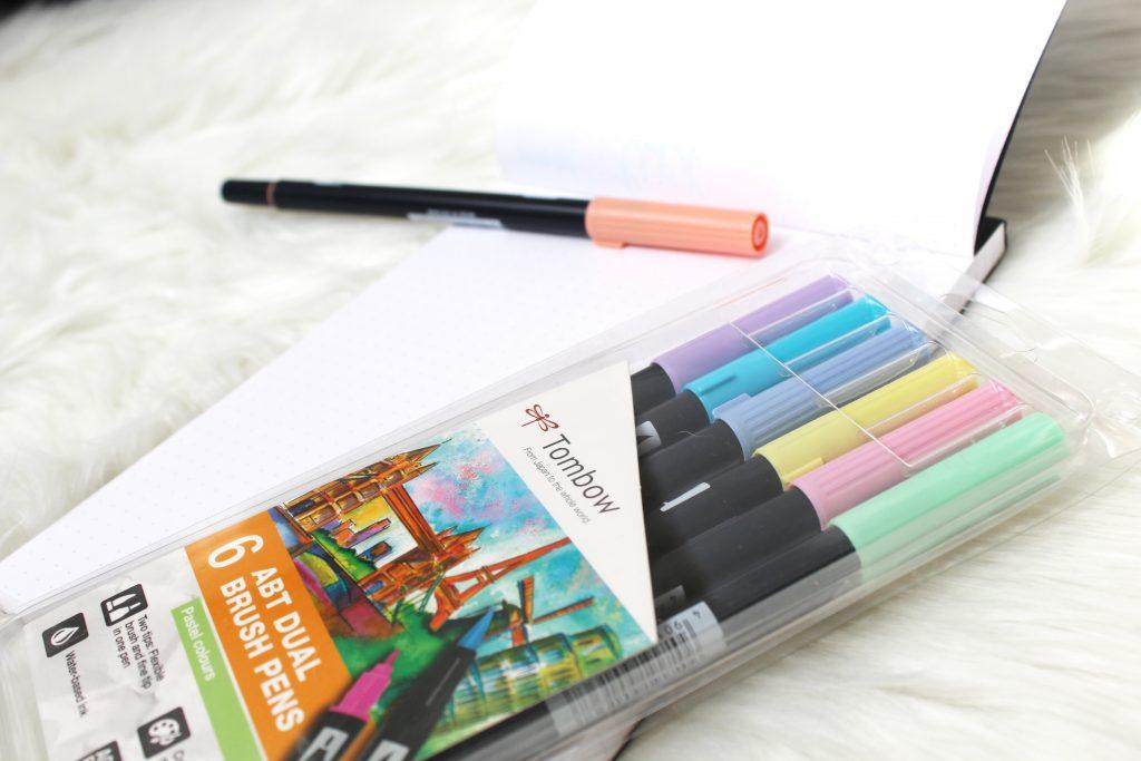 Tombow dual brushpennen