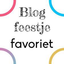 blogfeestje favoriet