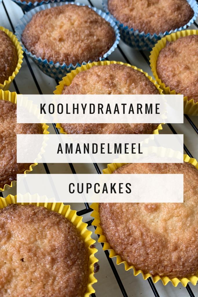 Koolhydraatarme amandelmeel cupcakes